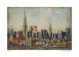 New York City Skyline Giclee Print by Joel Holsinger
