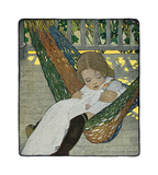 Rocking Baby Doll to Sleep Premium Giclee Print by Jessie Willcox-Smith