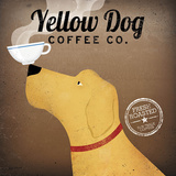 Yellow Dog Coffee Co. Print by Ryan Fowler