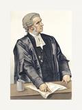 A Splendid Advocate Premium Giclee Print by  Spy (Leslie M. Ward)