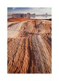 Lake Powell Layers of Time I Giclee Print by Donald Paulson