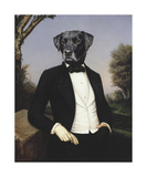 Le Baron Premium Giclee Print by Thierry Poncelet