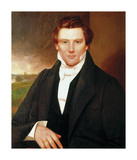 Portrait of Joseph Smith Premium Giclee Print
