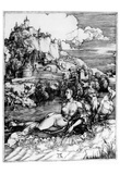 Albrecht Durer (The sea wonders) Art Poster Print Prints