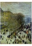 Claude Monet (Boulevard des Capucines) Art Poster Print Posters