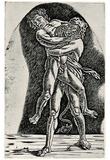 Andrea (School) Mantegna (Hercules and Antaeus) Art Poster Print Poster