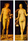 Albrecht Durer (Adam and Eve) Posters