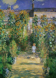 Claude Monet (Garden at Vetreuil) Art Poster Print Masterprint