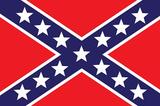 Confederate Flag Art Print Poster Masterprint