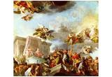 Diego Velázquez (Christopher Columbus presented the Catholic Majesties the New World) Art Poster Pr Prints