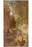 Carl Spitzweg (Trout Fishing) Art Poster Print Posters
