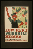 Cleveland Metropolitan Housing Authority (Low Rent Woodhill Homes) Art Poster Print Masterprint