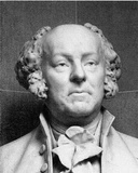 Bust of John Adams (Black and White Photo) Art Poster Print Masterprint