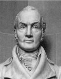 Bust of Aaron Burr (Black and White Photo) Art Poster Print Masterprint