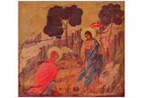 Duccio di Buoninsegna (Christ appears Magdalena) Art Poster Print Posters