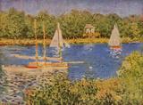 Claude Monet (The Seine at Argenteuil Basin) Art Poster Print Masterprint