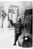 Chinese Boxer (Black and White Photo) Art Poster Print Prints