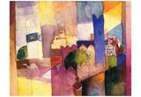 August Macke (Kairouan (III)) Art Poster Print Print