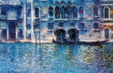 Claude Monet (Palazzo da Mula, Venice) Art Poster Print Masterprint