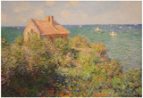 Claude Monet (Custom Officer's House) Art Poster Print Posters