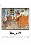 Chambre de L' Artist Vincent Van Gogh ART PRINT POSTER Prints