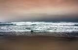 Beach (Cloudy Shore) Art Poster Print Masterprint