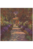 Claude Monet (Gartenweg) Art Poster Print Posters