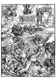 "Albrecht Durer (Illustration for ""Apocalypse,"" Scene: The four Euphratengel) Posters"