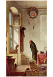 Carl Spitzweg (The cactus lovers) Art Poster Print Posters
