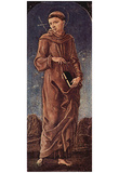 Cosme Tura (St. Francis of Assisi) Art Poster Print Plakaty