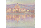 Claude Monet (Vetheuil) Art Poster Print Photo