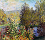Claude Monet (Corner of the Garden at Montgeron) Art Poster Print Masterprint