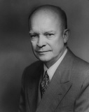 Dwight D. Eisenhower (Portrait) Art Poster Print Masterprint