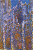 Claude Monet (Rouen Cathedral (The Portal in the morning sun, Harmony in Blue)) Art Poster Print Masterprint