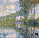 Claude Monet (Poplars on Epte) Art Poster Print Masterprint
