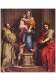 Andrea del Sarto (Harpyienmadonna) Art Poster Print Posters