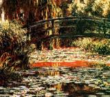 Claude Monet (Le Pont Japonais a Giverny) Art Poster Print Masterprint