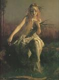 Arthur Hughes (Ophelia, Detail) Art Poster Print Masterprint