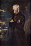 Benjamin Robert Haydon - Portrait of William Wordsworth, Art Poster Print Photo