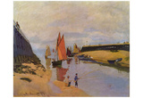 Claude Monet (Port of Trouville) Art Poster Print Prints
