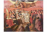 Benozzo Gozzoli (Triumph of St. Thomas Aquinas on Averroes, detail) Art Poster Print Prints