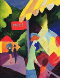 August Macke (Fashion window) Art Poster Print Masterprint