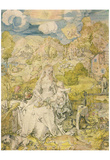 Albrecht Durer (Madonna with the many animals) Posters