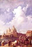 Canaletto (II) (Piazzetta in Venice) Art Poster Print Masterprint