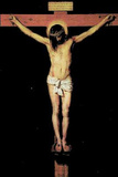 Diego Velázquez (Christ on the Cross) Art Poster Print Masterprint