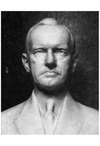 Bust of Calvin Coolidge (Black and White Photo) Art Poster Print Posters