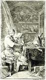 "Daniel Nicholas Chodowiecki (Frontispiece to ""Buffon's Natural History of Birds"") Art Poster Print Masterprint"