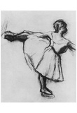 Edgar Germain Hilaire Degas (Dancer at the bar) Art Poster Print Posters