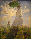 Claude Monet (Woman with a Parasol, 1875) Art Poster Print Masterprint