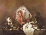 Jean-Baptiste Simeon Chardin (The Rays) Art Poster Print Masterprint